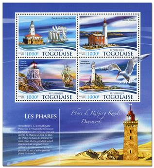 n° 4576 - Timbre TOGO  Poste