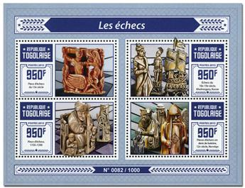 n° 4814 - Timbre TOGO  Poste