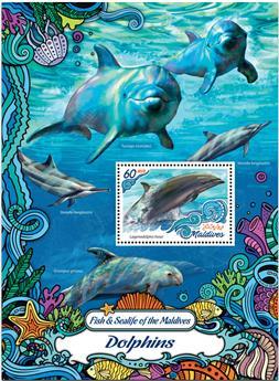 n° 988  : Timbre MALDIVES Blocs et feuillets