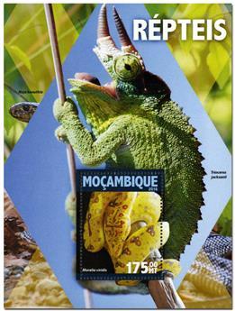 n° 1056  : Timbre MOZAMBIQUE Blocs et feuillets