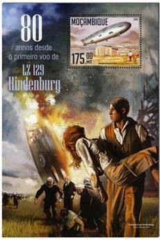 n° 1077  : Timbre MOZAMBIQUE Blocs et feuillets