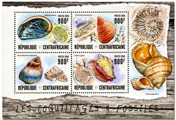 n° 4460  : Timbre CENTRAFRICAINE Poste