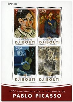 n° 1011  : Timbre DJIBOUTI Poste