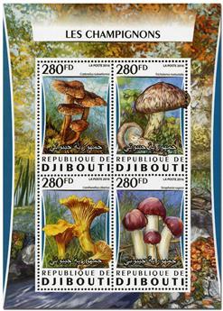 n° 1031  : Timbre DJIBOUTI Poste