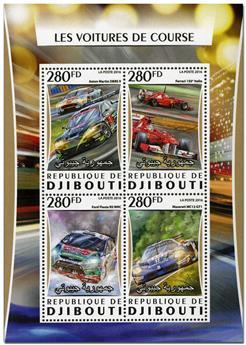 n° 1051  : Timbre DJIBOUTI Poste