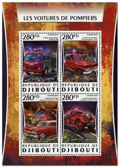 n° 1071  : Timbre DJIBOUTI Poste