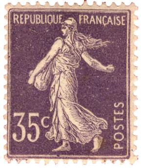 n°136* - Timbre France Poste