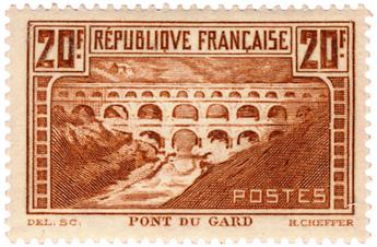 n°262* - Timbre France Poste