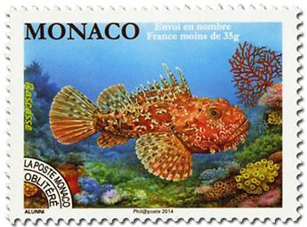 n° 116 - Selo Mónaco Pré-obliterados