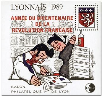 n.o 11 -  Sello Francia Cámara Sindical de Negociantes y Expertos en Filatelia (CNEP)