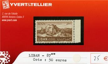 LIBAN - n°87**