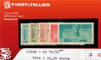 LIBAN PA - n°46/50**