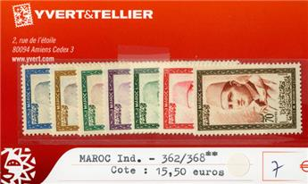 MAROC INDEPENDANT - n°362/368**
