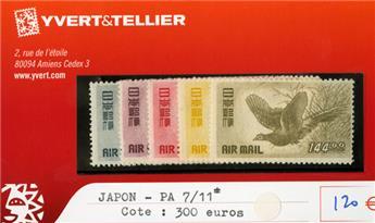 JAPON PA - n°7/11*