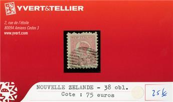 NOUVELLE-ZELANDE - n°38 obl.