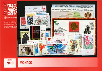 nr. 2719/2756 -  Stamp Monaco Year set (2010)