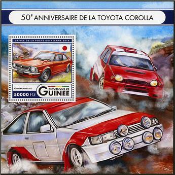 n° 1987 - Timbre GUINÉE Blocs et feuillets