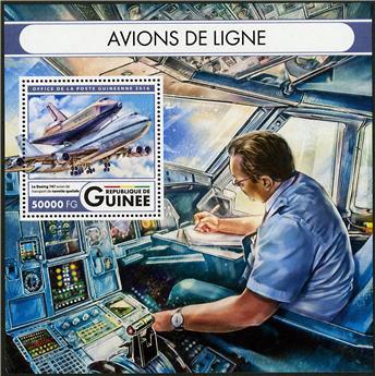 n° 2002 - Timbre GUINÉE Blocs et feuillets