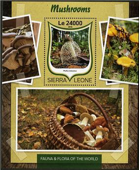 n° 1015 - Timbre SIERRA LEONE Blocs et feuillets
