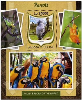 n° 1025 - Timbre SIERRA LEONE Blocs et feuillets