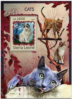 n° 1092 - Timbre SIERRA LEONE Blocs et feuillets