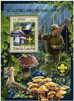 n° 1097 - Timbre SIERRA LEONE Blocs et feuillets