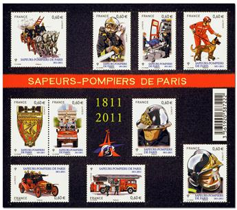 n.o F4582 -  Sello Francia Correos