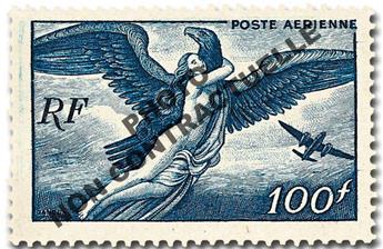 n° 18a -  Selo França Correio aéreo