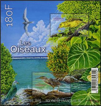 n° 45 - Timbre Polynésie Blocs et Feuillets