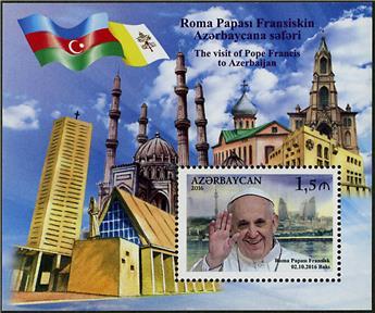 n° 149 - Timbre AZERBAIDJAN Blocs et feuillets