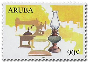 n° 944 - Timbre ARUBA Poste