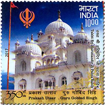 n° 2777 - Timbre INDE Poste