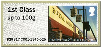 n° 118 - Timbre GRANDE-BRETAGNE Timbres de distributeurs