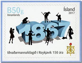 n° 1443 - Timbre ISLANDE Poste
