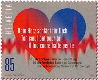 n° 2412 - Timbre SUISSE Poste