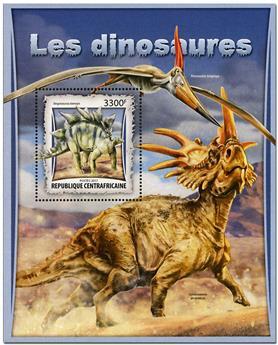 n° 1075 - Timbre CENTRAFRICAINE Blocs et feuillets