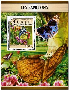 n° 147 - Timbre DJIBOUTI Blocs et feuillets
