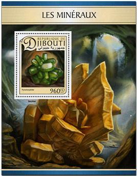 n° 152 - Timbre DJIBOUTI Blocs et feuillets