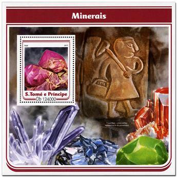 n° 1005 - Timbre SAINT-THOMAS ET PRINCE Blocs et feuillets