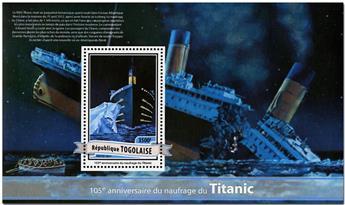 n° 1247 - Timbre TOGO  Blocs et feuillets