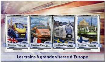 n° 5502 - Timbre TOGO  Poste