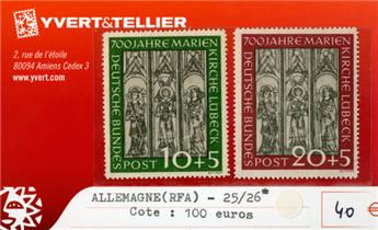 ALLEMAGNE FEDERALE - n°25/26*