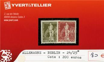 ALLEMAGNE BERLIN - n°24/25*