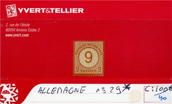 ALLEMAGNE EMPIRE - n°29*