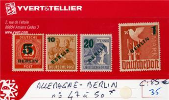 ALLEMAGNE BERLIN - n°47/50*