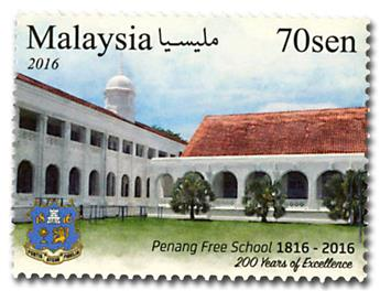 n° 1861/1863 - Timbre MALAYSIA Poste