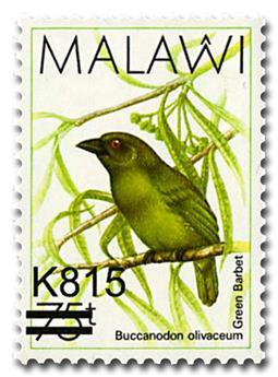 n° 524A - Timbre MALAWI Poste