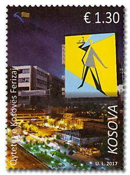 n° 230/231 - Timbre KOSOVO Poste