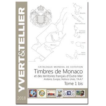 TOME 1BIS - 2018  Timbres de Monaco et des TOM