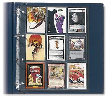 "FEUILLES ""COMPACT A4"" (TRADING CARDS & CARTES DE SPORT) - SAFE® (x5)"